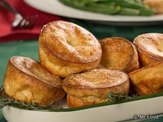 Parmesan Popovers - Add a special touch to your bread basket with these bite-sized eats!
