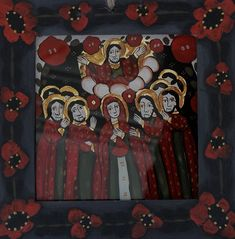 Glass Painting, Painting, Art, Christian Paintings, Pictures