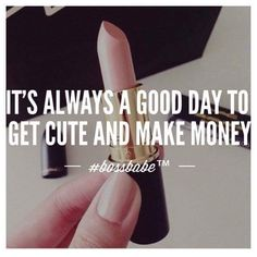 I love making money! (Probably even more than spending it!)  Yesterday was an awesome day but the purse paid for it... Now time to bounce back and refill the funds so I can carry on enjoying life as much as possible! ❤️ #beyourownboss #loveyounique #selfemployed #lovinglife #makeup