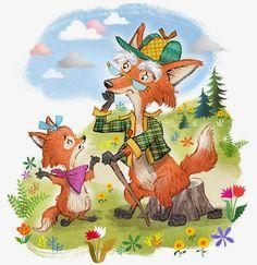 John Nez Illustration: Little Fox is Sad...
