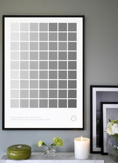 Scandinavian Interior - Color Palette Gray from Kreativitum