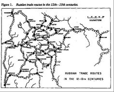 The Medieval River Trade Network of Russia Revisited