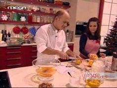 SWEET ALMOND TREE: MELOMAKARONA with ORANGE FLAVOR - Master Chef recipe - Greek master pastry chef Stelios Parliaros (there's also a video in Greek)