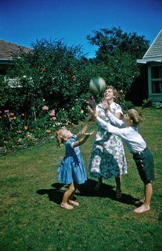 Back garden play