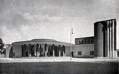Angiolo Mazzoni, Palazzo delle Poste a Ostia Lido, 1934