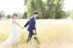 Love the field wedding pics. good thing we have a field :)
