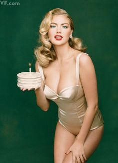 Kate Upton. Photographed by Annie Leibovitz for the October 2013 cover of Vanity Fair. Styled by Jessica Diehl.