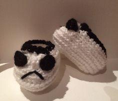 Un favorito personal de mi tienda Etsy https://www.etsy.com/ie/listing/243832180/stormtrooper-booties-baby-shoes-crochet
