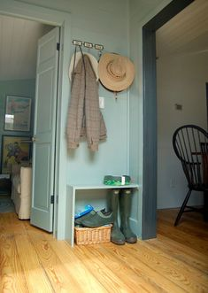 small space entryway ideas - Google Search