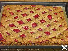 schnelle Linzerschnitten Bread, Desserts, Food, Home Decor, Biscotti, Advent, Pizza, Cupcakes, Sweets