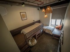 Chao Hostel - Comfort Private Twin Room + WC  #chaohostel #hostel #bangkok #twin #thaiculture