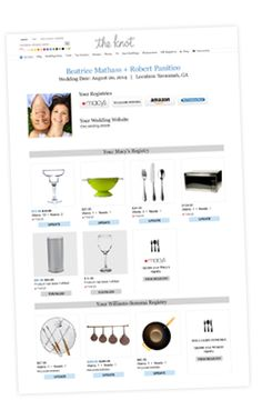The knot wedding registry list wedding planning advice for Wedding registry the knot