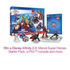 FREE Win a Disney Infinity 2.0: Marvel Super Heroes PS4 Bundle At Amazon - Gratisfaction UK Freebies #freebies #freebiesuk #amazon #ps4 #winps4