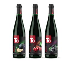 TO Fruit Wines on Packaging of the World - Creative Package Design Gallery