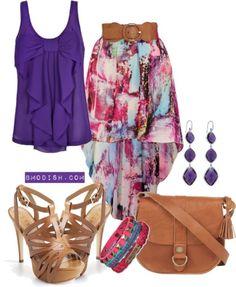 I love this purple!