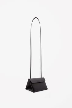 Triangle leather bag