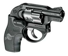 Ruger LCR with Crimson Trace LG-411 Lasergrip - Sweet!