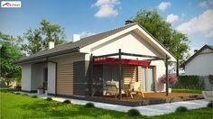 Z329 to wyjątkowy dom z kategorii projekty domów na wąską działkę