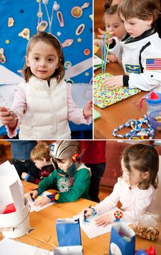 Space birthday party activities