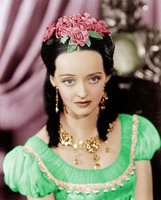 Bette Davis My daughter has eyes like hers