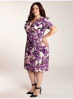 Truda Plus Size Dress - Work Wear Collection by IGIGI