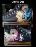 Left Pony Shoe Teaser by =Disneygurl on deviantART