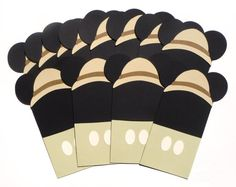 12 Safari Mickey Mouse Themed Favor Loot Goody by ScrapsToRemember