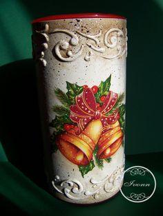 Puszka-tuba na świąteczne łakocie 4