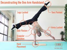 Awesome guest post on one-armed handstands from Ryan Hurst of @gmbfit.  If you want to do impressive stuff, this is definitely inspiring!
