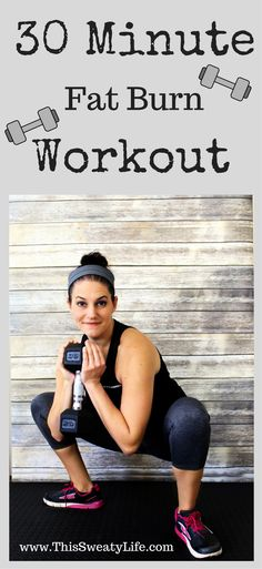 Burn fat ALL day from this workout! #HIIT