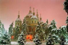 Russian Orthodox Church. Alma-Ata.Kazakhstan
