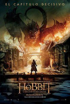 Cartel: El hobbit: La batalla de los cinco ejércitos