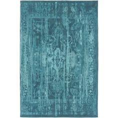 Artistic Weavers Elegant Maya Hand-Woven Teal Area Rug Rug Size: Runner x Teal Rug, Teal Area Rug, Blue Rugs, Turquoise Rug, Contemporary Area Rugs, Modern Rugs, Polyester Rugs, Indoor Rugs, Carpet Runner
