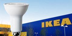 Dal 2016 solo lampade a #Led per #IKEA