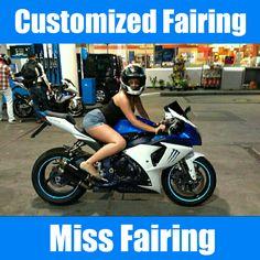 Miss Fairing Customized ABS Motorcycle Injection Fairing Bodywork for Honda Kawasaki Suzuki Yamaha Women~