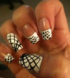 DIY Halloween Nails : Assorted Halloween Nail Art