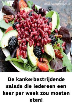 Fruit Salad, Cobb Salad, Healthy Food, Healthy Recipes, Food And Drink, Salad, Health Recipes, Healthy Food Recipes, Fruit Salads
