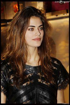 Alyson Le Borges (fille de Anthony Delon) - Dîner Lancer pour les 135 ans de French Légéreté. A Paris le 24 novembre 2011.