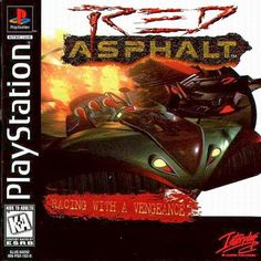 Old school video games: RED ASPHALT. Repin if you remember!