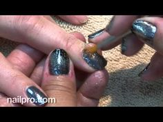 NAILPRO Video Channel: How to do Shellac Twinkle with glitter