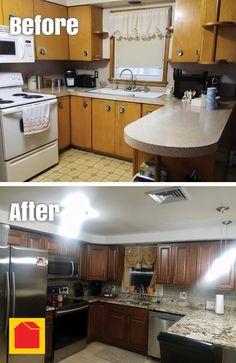 Kitchen remodel by Kathy B. -Warwick, RI. We increased storage using ...