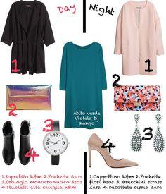 7ea16a130d24 Look doppio  il giorno e la sera Il look della settimana di Melarossa è un  abito semplice