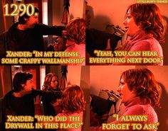 Xander and Willow from Buffy the Vampire Slayer.