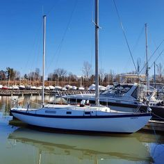 SV Azura - tucked into her slip (April Sailing Ships, Boat, Photo And Video, Videos, Instagram, Dinghy, Boats, Sailboat, Tall Ships