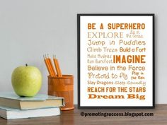 Summer Bucket List Poster - End of the Year: This printable poster would make a great end of the year gift for any student or teacher, including yourself!