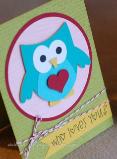 Valentine fun. Also on this site, using paint sample cards to make cutouts.