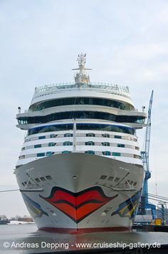 AIDAstella at daylight - January 26th, 2013 - AIDA stella 110 - Cruise Ships from Papenburg / Germany Photo by Andreas Depping