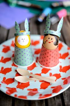 Amusement eggs holders - Easter Projects for Your Home | Design & DIY Magazine
