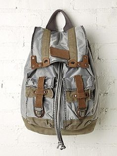 Old Trend Washed Backpack at Free People Clothing Boutique