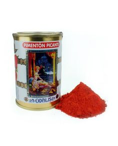 LA ODALISCAPimenton de Murcia Hot Paprika80 g. The Pimentón de Murcia PDO(Guadalentin Valley), is bright red in color and produced from t...